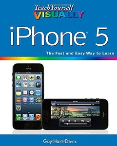 Teach Yourself VISUALLY iPhone 5, 2/e (Paperback)-cover