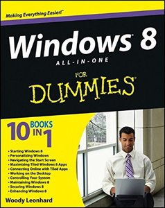 Windows 8 All-in-One For Dummies (Paperback)-cover
