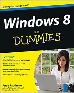 Windows 8 For Dummies (Paperback)-cover