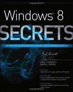 Windows 8 Secrets, 4/e (Paperback)-cover