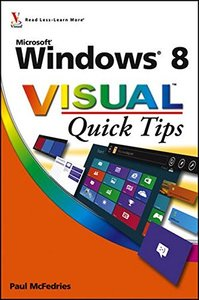 Windows 8 Visual Quick Tips (Paperback)-cover