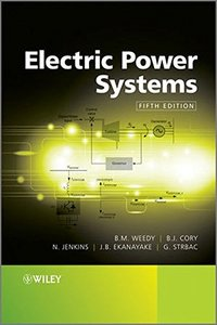 Electric Power Systems, 5/e (Hardcover)-cover
