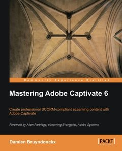Mastering Adobe Captivate 6-cover