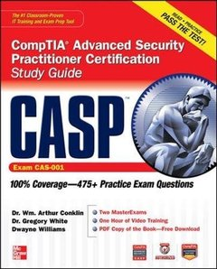CASP CompTIA Advanced Security Practitioner Certification Study Guide (Exam CAS-001) (Paperback)-cover