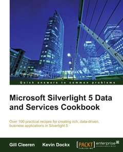 Microsoft Silverlight 5 Data and Services Cookbook (Paperback)-cover