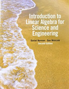 Introduction to Linear Algebra for Science and Engineering, 2/e (Paperback)-cover