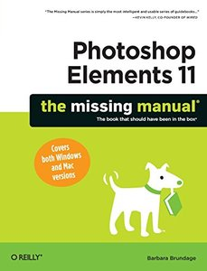 Photoshop Elements 11: The Missing Manual (Paperback)-cover