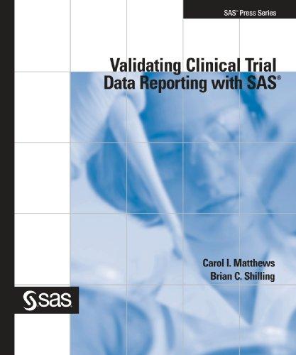 validating clinical trials using sas