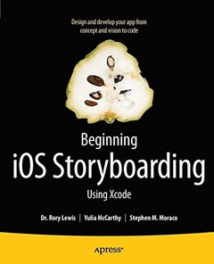 Beginning iOS Storyboarding: Using Xcode (Paperback)-cover