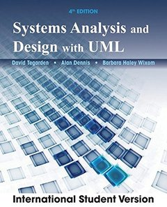 Systems Analysis and Design with UML, 4/e (IE-Paperback)-cover