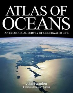 Atlas of Oceans: An Ecological Survey of Underwater Life (Hardcover)-cover