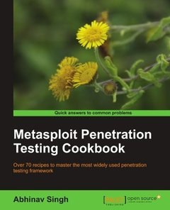Metasploit Penetration Testing Cookbook-cover