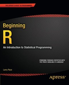 Beginning R: An Introduction to Statistical Programming (Paperback)-cover
