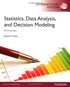 Statistics, Data Analysis, & Decision Modeling, 5/e (IE-Paperback)【含Access Code, 經刮除不受退】-cover
