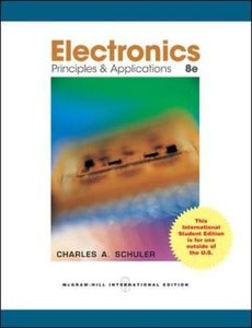 Electronics: Principles and Applications, 8/e (IE-Paperback)-cover