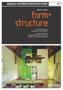 Basics Interior Architecture 01: Form and Structure: the Organisation of Interior Space (Paperback)-cover
