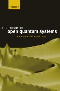The Theory of Open Quantum Systems (Paperback)-cover