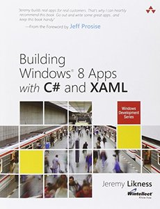 Building Windows 8 Apps with C# and XAML (Paperback)-cover