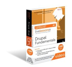 Drupal Fundamentals LiveLesson Bundle-cover