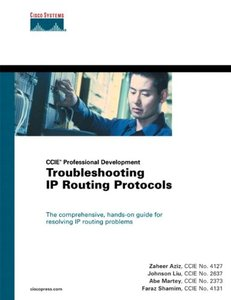 Troubleshooting IP Routing Protocols (Paperback)-cover