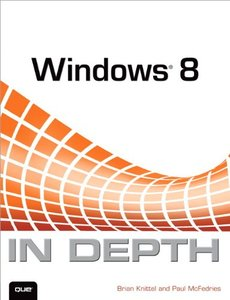 Windows 8 In Depth (Paperback)-cover