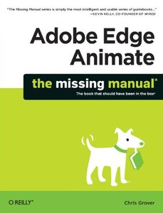 Adobe Edge Animate: The Missing Manual (Paperback)-cover