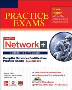 CompTIA Network+ Certification Practice Exams (Exam N10-005) (Paperback)-cover