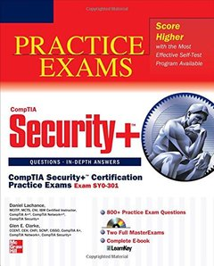 CompTIA Security+ Certification Practice Exams (Exam SY0-301) (Paperback)-cover