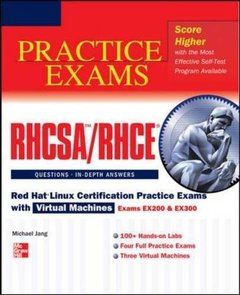 RHCSA/RHCE Red Hat Linux Certification Practice Exams with Virtual Machines (Exams EX200 & EX300) (Paperback)-cover