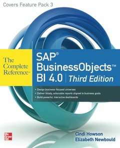 SAP BusinessObjects BI 4.0 The Complete Reference, 3/e (Paperback)-cover