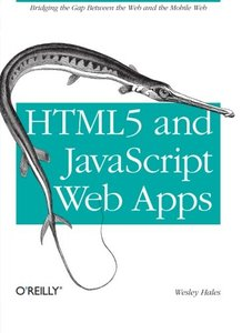 HTML5 and JavaScript Web Apps (Paperback)-cover