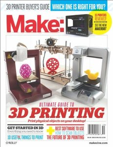 Make: Ultimate Guide to 3D Printing (Paperback)-cover