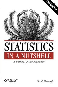 Statistics in a Nutshell, 2/e (Paperback)-cover