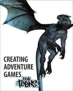 Creating Adventure Games for Teens (Paperback)-cover