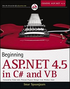 Beginning ASP.NET 4.5: in C# and VB (Paperback)-cover