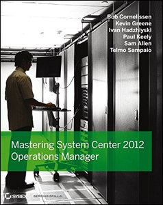 Mastering System Center 2012 Operations Manager (Paperback)-cover