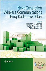Next Generation Wireless Communications Using Radio over Fiber (Hardcover)-cover