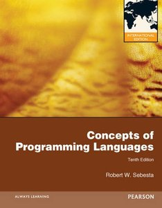 Concepts of Programming Languages, 10/e (IE-Paperback)-cover