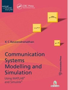 Communication Systems Modeling and Simulation using MATLAB and Simulink (Hardcover)-cover