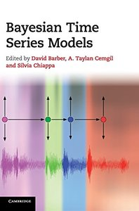 Bayesian Time Series Models (Hardcover)-cover