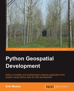 Python Geospatial Development-cover