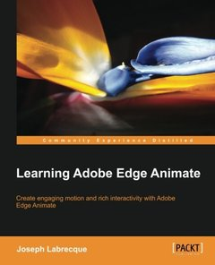 Learning Adobe Edge Animate-cover