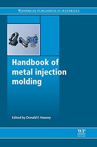 Handbook of metal injection molding (Hardcover)-cover