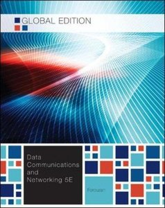 Data Communications and Networking, 5/e (IE-Paperback)-cover