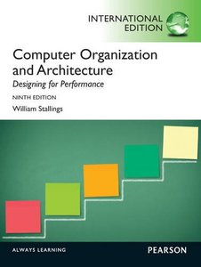 Computer Organization and Architecture: Designing for Performance, 9/e (IE-Paperback)-cover