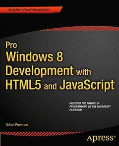 Pro Windows 8 Development with HTML5 and JavaScript (Paperback)-cover