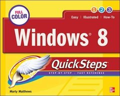 Windows 8 QuickSteps (Paperback)-cover