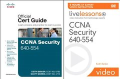 CCNA Security 640-554 Official Cert Guide and LiveLessons Bundle-cover