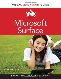 Microsoft Surface: Visual QuickStart Guide (Paperback)-cover