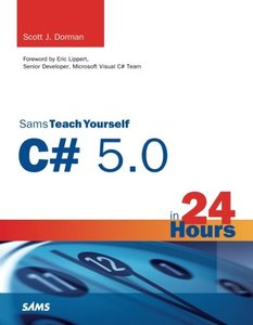 Sams Teach Yourself C# 5.0 in 24 Hours (Paperback)-cover